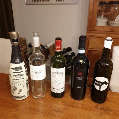Wijnen proeverij Wijn en wild bij Vako Vino